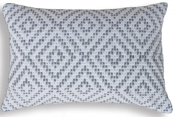 Jersey Diamond Pillow Cover with shadow