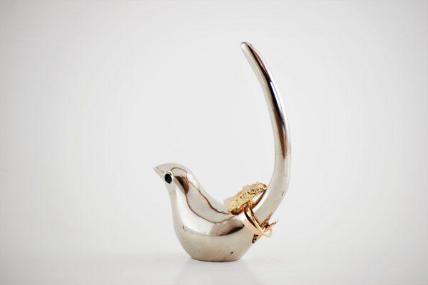 ring holder Bird